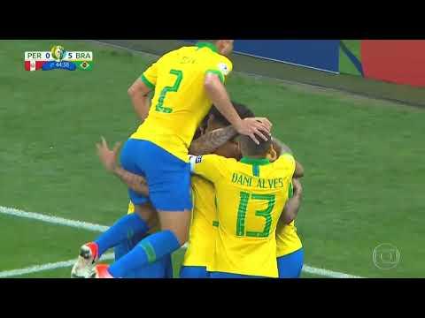 O É esporte fez uma crônica sobre a vitoria do Brasil contra o Peru, na Copa América 2019