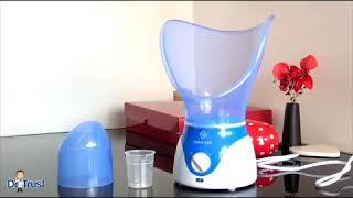 √Home Spa Facial Steamer and Vaporiser (Blue)  #Dr Trust #HomeSpa