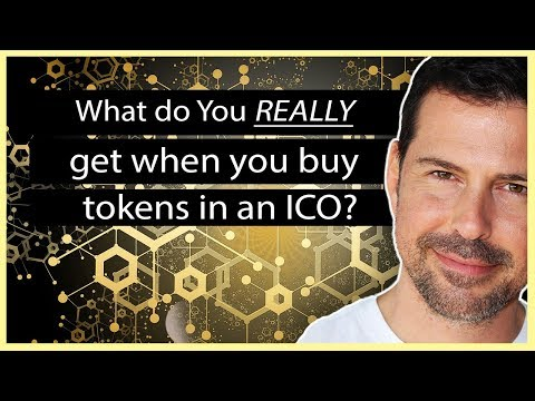 What do you REALLY get when you buy tokens in an ICO?