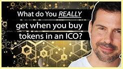 What do you REALLY get when you buy tokens in an ICO?  - George Levy