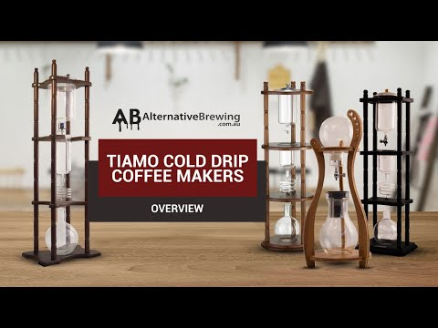 How To Make Cold Drip Coffee Using Tiamo Cold Brew Towers