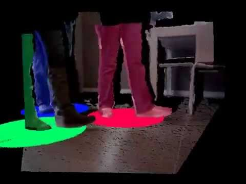 Kinect-based perception of people from a low-lying viewpoint