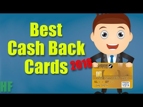 3 Best Cash Back Credit Cards (2018)