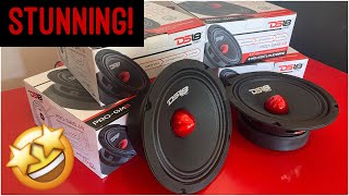 "WOW!!! DS18 Pro-Gm 6.5"" door speaker review mid-bass/ mid-range"