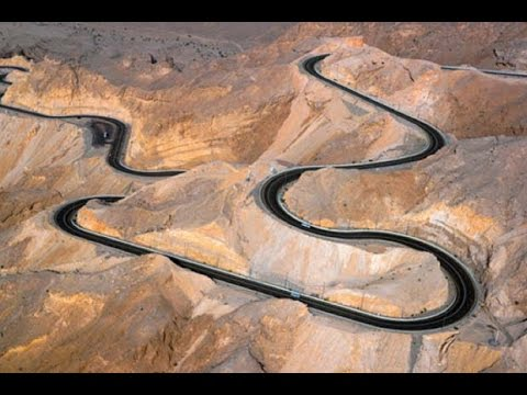 JEBEL HAFEET - The world's greatest driving road (HD 1080)