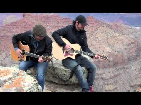 Martin Sexton & Adam Gontier - Free Fallin' Cover at the Grand Canyon