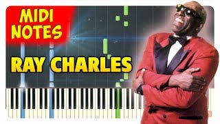 Ray Charles - I Got A Woman Piano Cover (Piano Sheets + midi)
