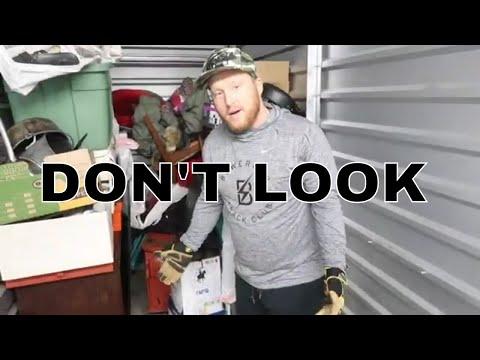 Unclaimed Abandoned Storage Locker DON'T LOOK! NIKE!