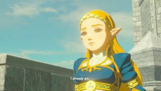 ZELDA BOTW: Memory # 12 Father and Daughter - Hyrule Castle