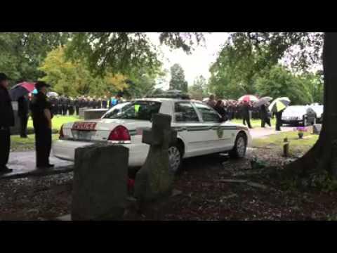 Forest Acres  sc Officer Greg Alia's last call