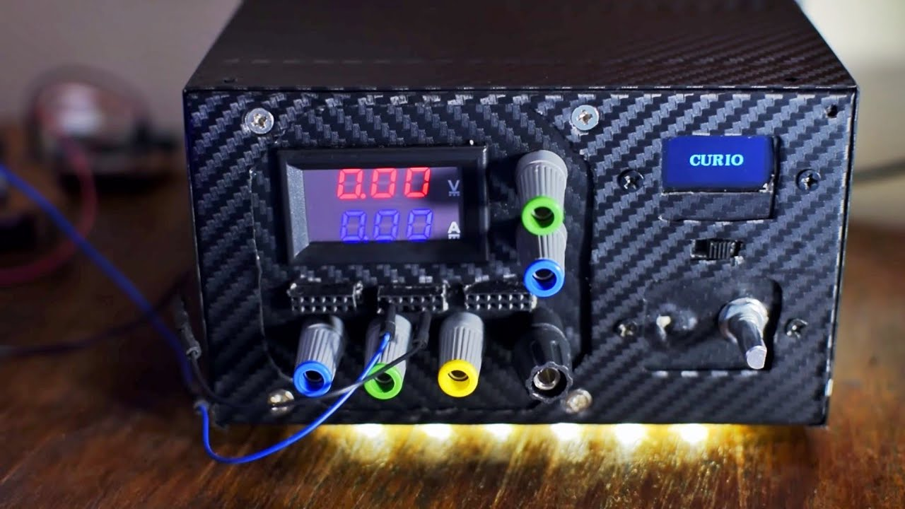 Diy Lab Bench Power Supply Using Atx Computer Power Supply