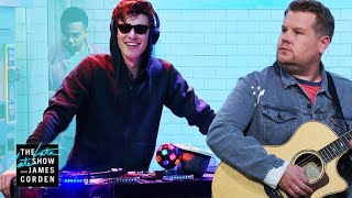 Download Shawn Mendes Destroys James In a Cover Battle #LateLateShawn Mp3 and Videos