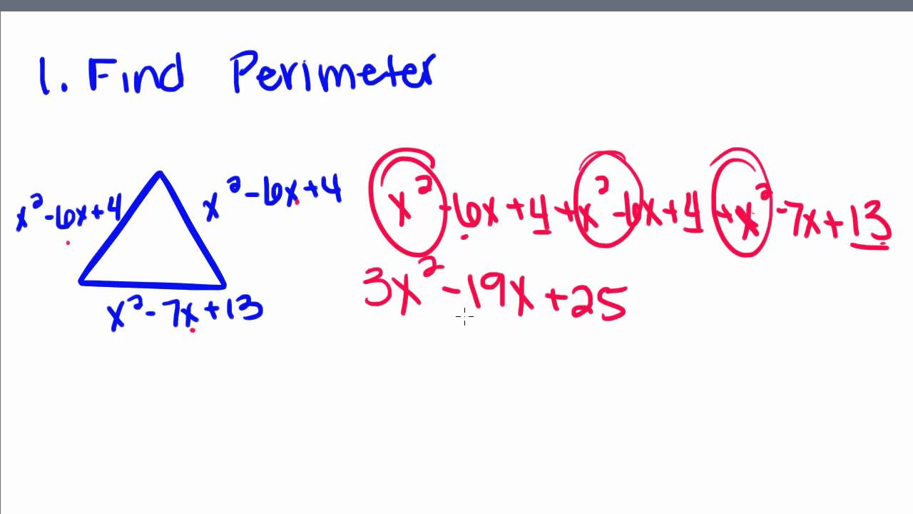 polynomial tutorial Demonstrates how to add polynomials using both the horizontal and vertical formats.