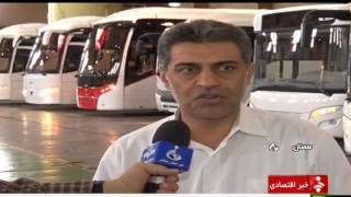 Iran & Sweden Bus joint project, Semnan province پروژه مشترك اتوبوس سازي سوئد و ايران