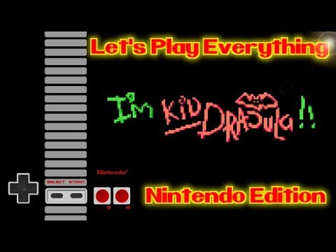 Let's Play Everything: Akumajou Special Boku Dracula Kun |