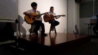 Song tấu Guitar AYP46: Song from the Secret Garden + Those Were the Days