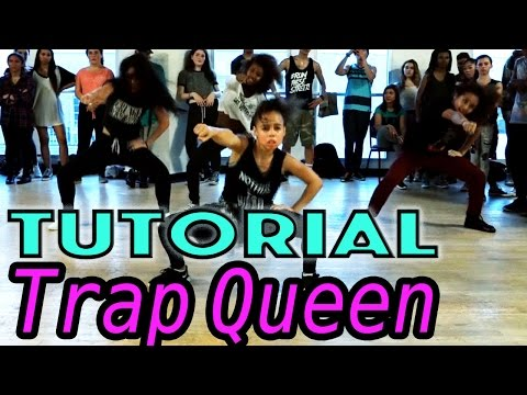 TRAP QUEEN - Fetty Wap Dance TUTORIAL | @MattSteffanina Choreography (Beginner Hip Hop)