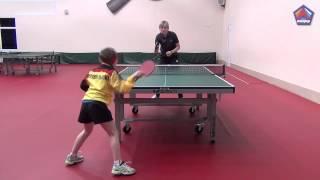 Обучение игре в настольный теннис   ДЮСШ Лидер