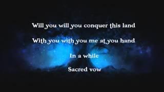 LEAVES' EYES - Sacred Vow [lyrics]