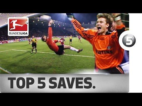 Jens Lehmann - Top 5 Saves