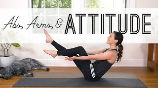 Abs Arms and Attitude  |  Yoga For Weight Loss  |  Yoga With Adriene
