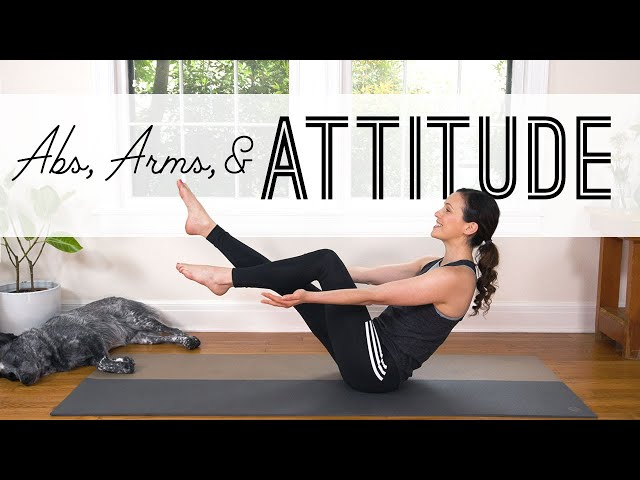 Abs, Arms, and Attitude! | Yoga For Weight Loss | Yoga With Adriene