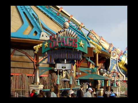 Space Mountain Mission 1 - Theme Park Music - YouTube