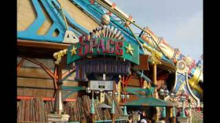 Space Mountain Mission 1 - Theme Park Music