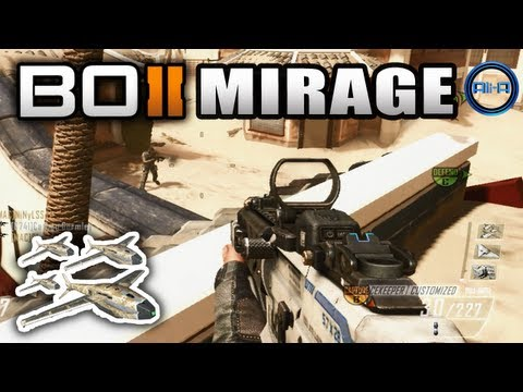 "Peacekeeper SWARM - ""MIRAGE"" Gameplay - Black Ops 2 Revolution Map Pack w/ Ali-A"