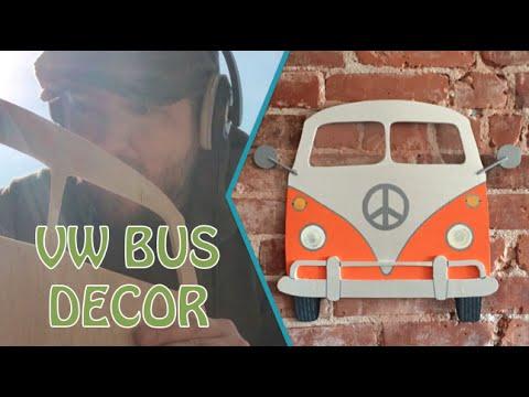 Vw Bus Wood Wall Decor