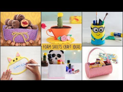 6 Easy  Foam Sheets Craft Ideas | Ventunoart