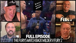 Tyson Fury, John Fury and Andy Lee watch Wilder v Fury 2 together for the first time: What Went Down