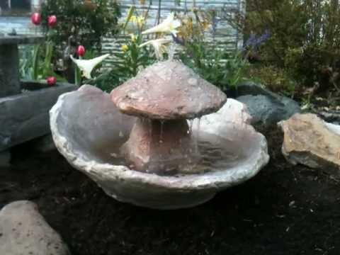 Cf 906 Mushroom Fountain Staddle Stone Water Feature