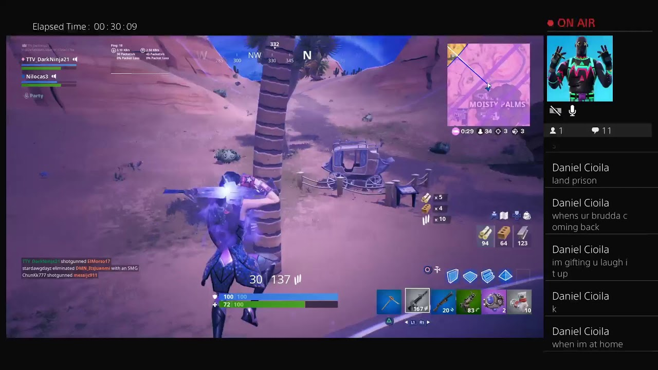 Fortnite battle royal (Update v 10 30)