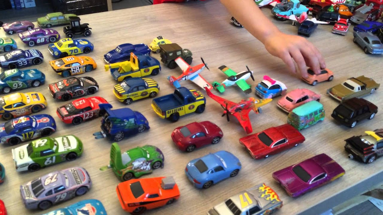 Cars Disney Pixar Toon Toys Jouets Voitures Miniatures Collection D'Andrea