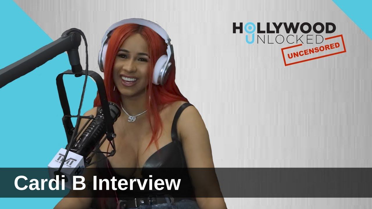 Cardi B Reveals What She's Most Cocky About on Hollywood Unlocked [UNCENSORED]
