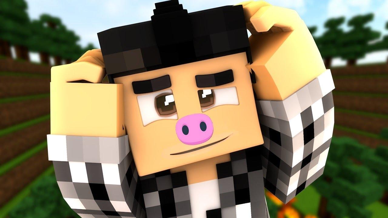 Je suis un vrai cochon minecraft youtube - Minecraft cochon ...