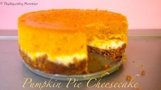 Pumpkin Pie And Cheesecake Double Decker Recipe
