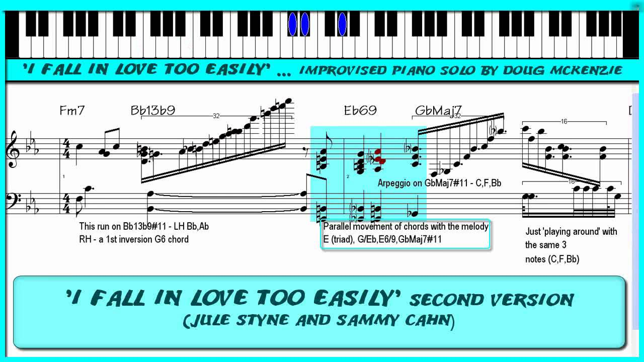 I fall in love too easily version 2 solo jazz piano tutorial i fall in love too easily version 2 solo jazz piano tutorial hexwebz Choice Image