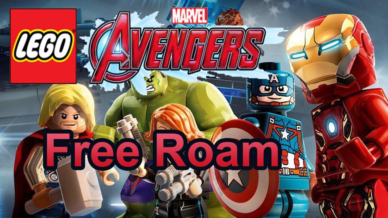 Lego Marvel S Avengers 3ds Free Roam Gameplay Youtube