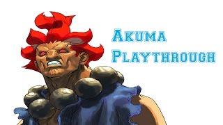 Street Fighter III: 3rd Strike - Akuma Playthrough