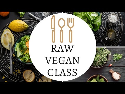 My Next Vegan Class! Come See Me!