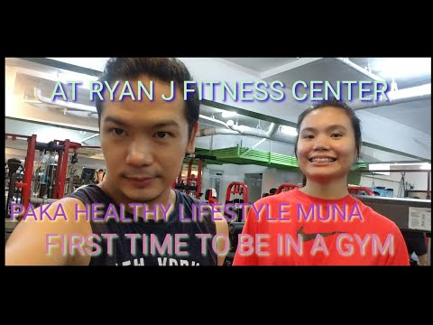 FIRST TIME SA GYM / RYAN J FITNESS CENTER /HOW WAS IT