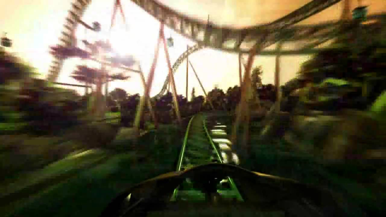 Virtual POV ride on Cheetah Hunt, Busch Gardens' new roller coaster in Tampa