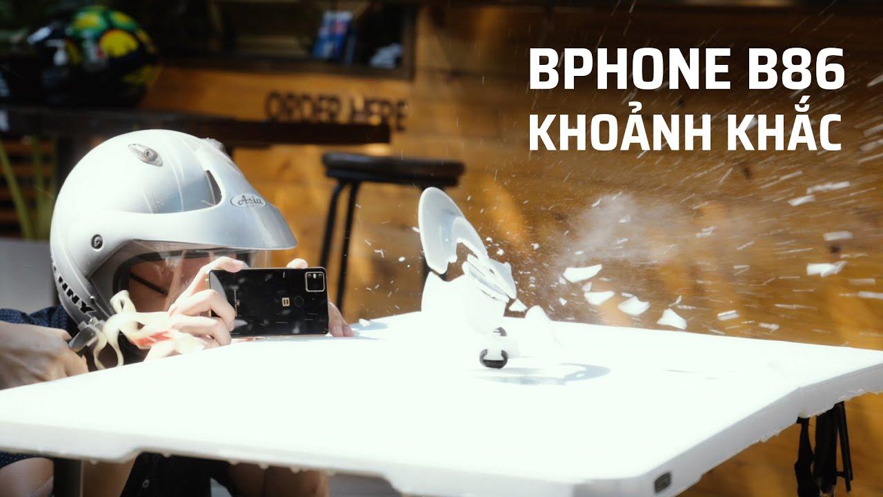 """Bphone B86 - Chụp thử chế độ """"Khoảnh khắc"""""""