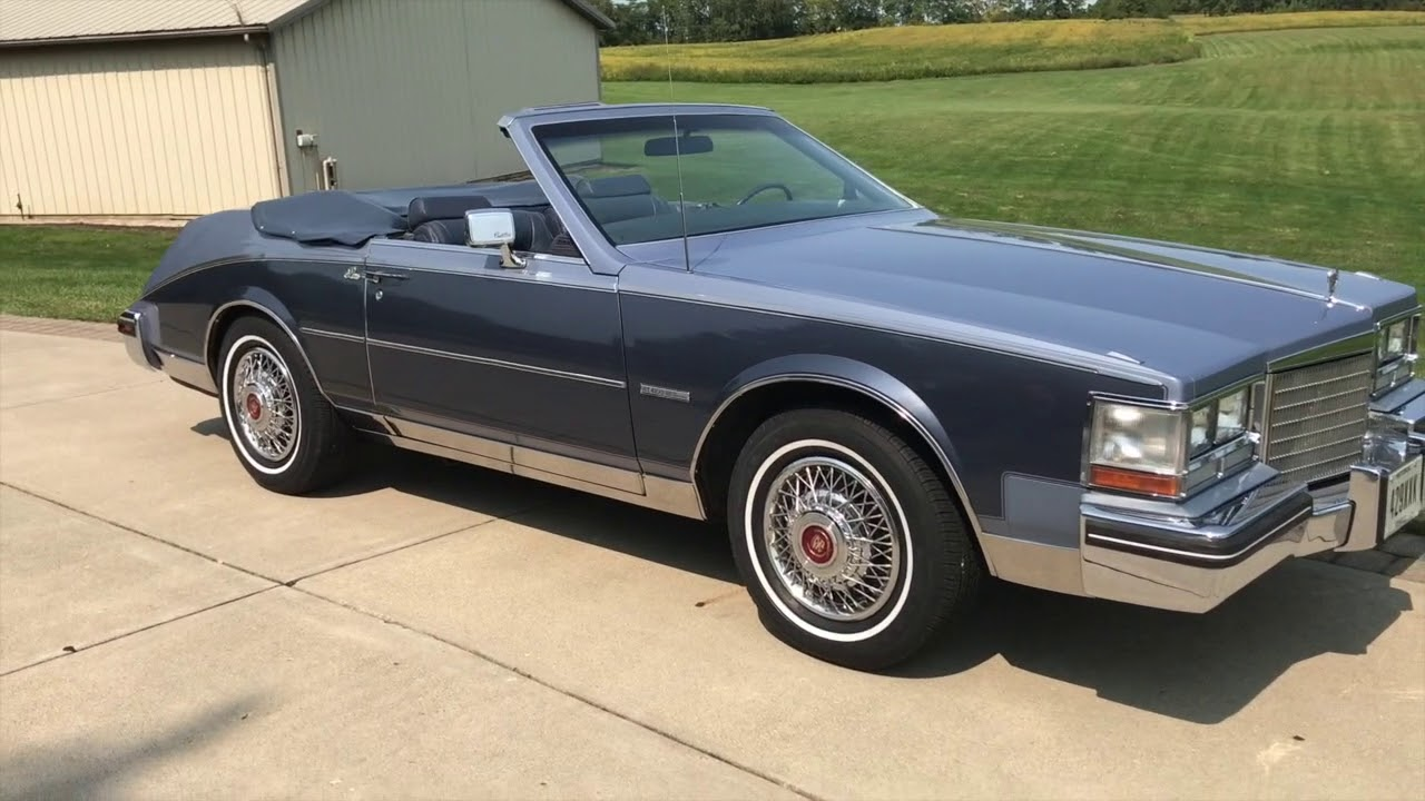1983 Cadillac Paris Custom Convertible
