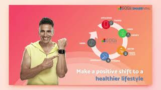 GOQii Smart Vital - A certified medical device on your wrist