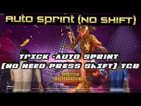 Pubg Mobile Auto Sprint Trick Without Pressing SHIFT in Tencent Gaming Buddy
