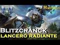 Blitzcrank lancero radiante skin   Blitzcrank vs Ornn s7   UNA LINEA  COMPLICADA!!