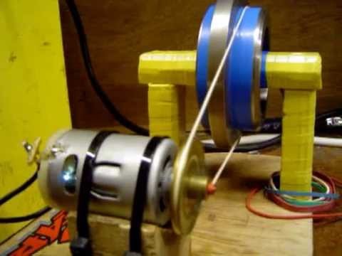 12 Volt Motor Blows Its Guts On 60 Volts